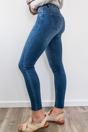 On The Fly High-Rise Skinnies - ALL SALES FINAL