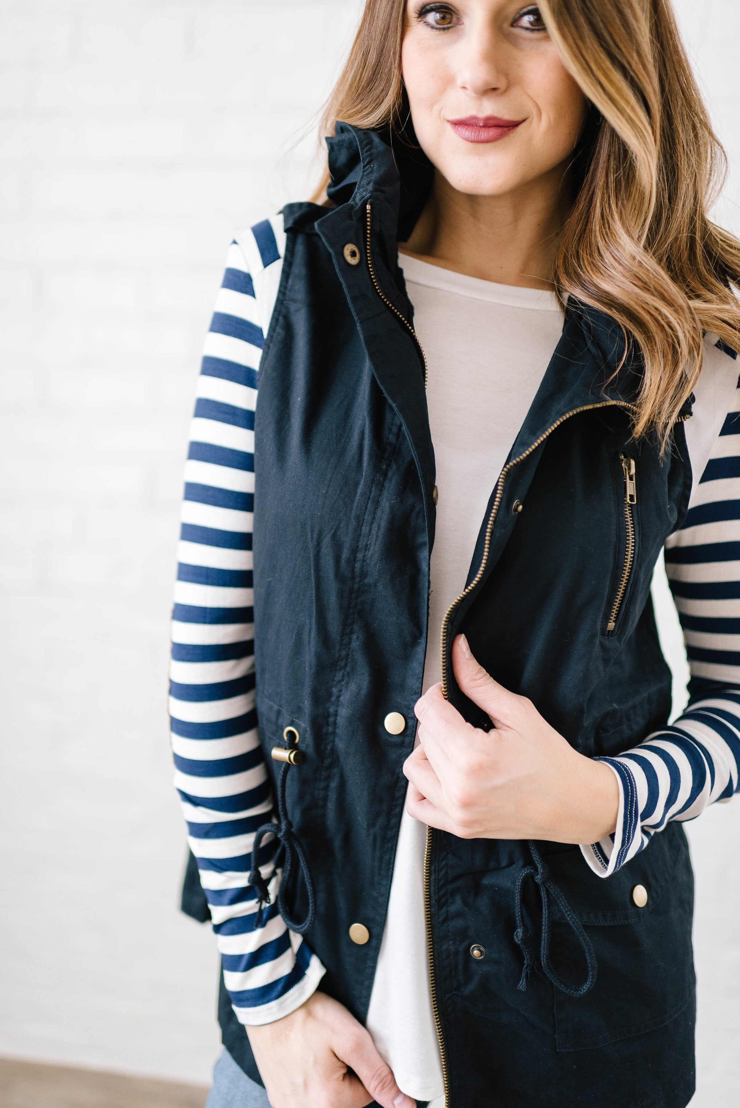 Scout Vest in Navy