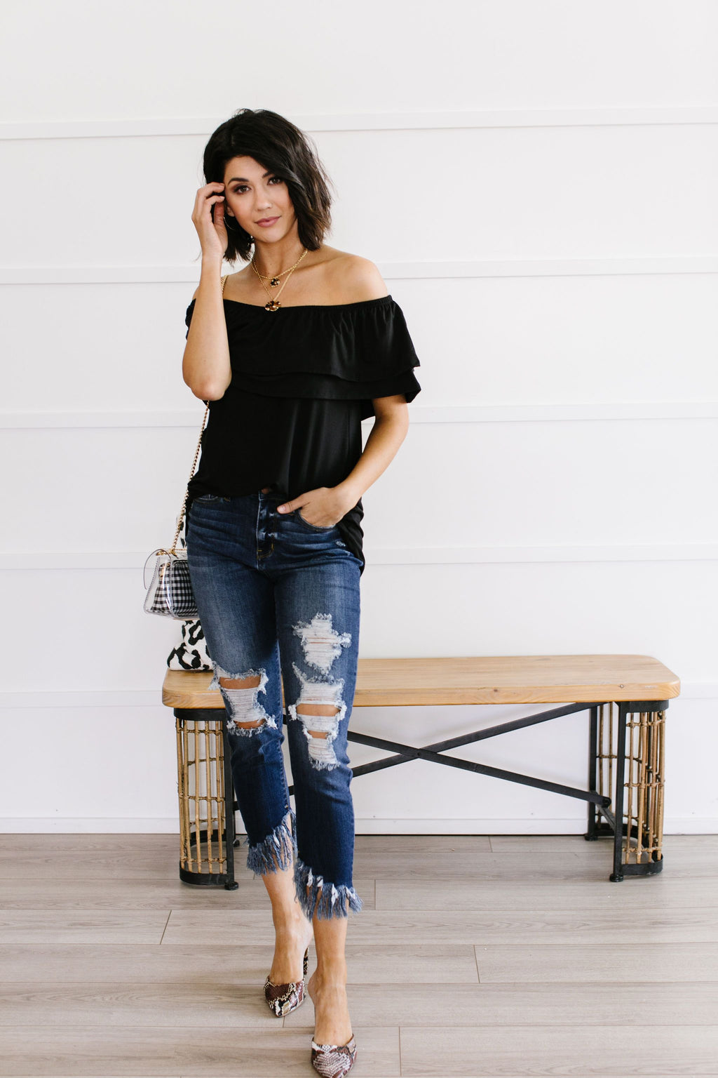Sexy Señorita Off-Shoulder Top