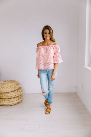 Spring Breeze Crochet Blouse