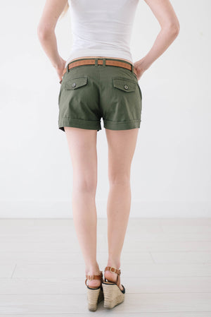 Sunset Beach Shorts Olive