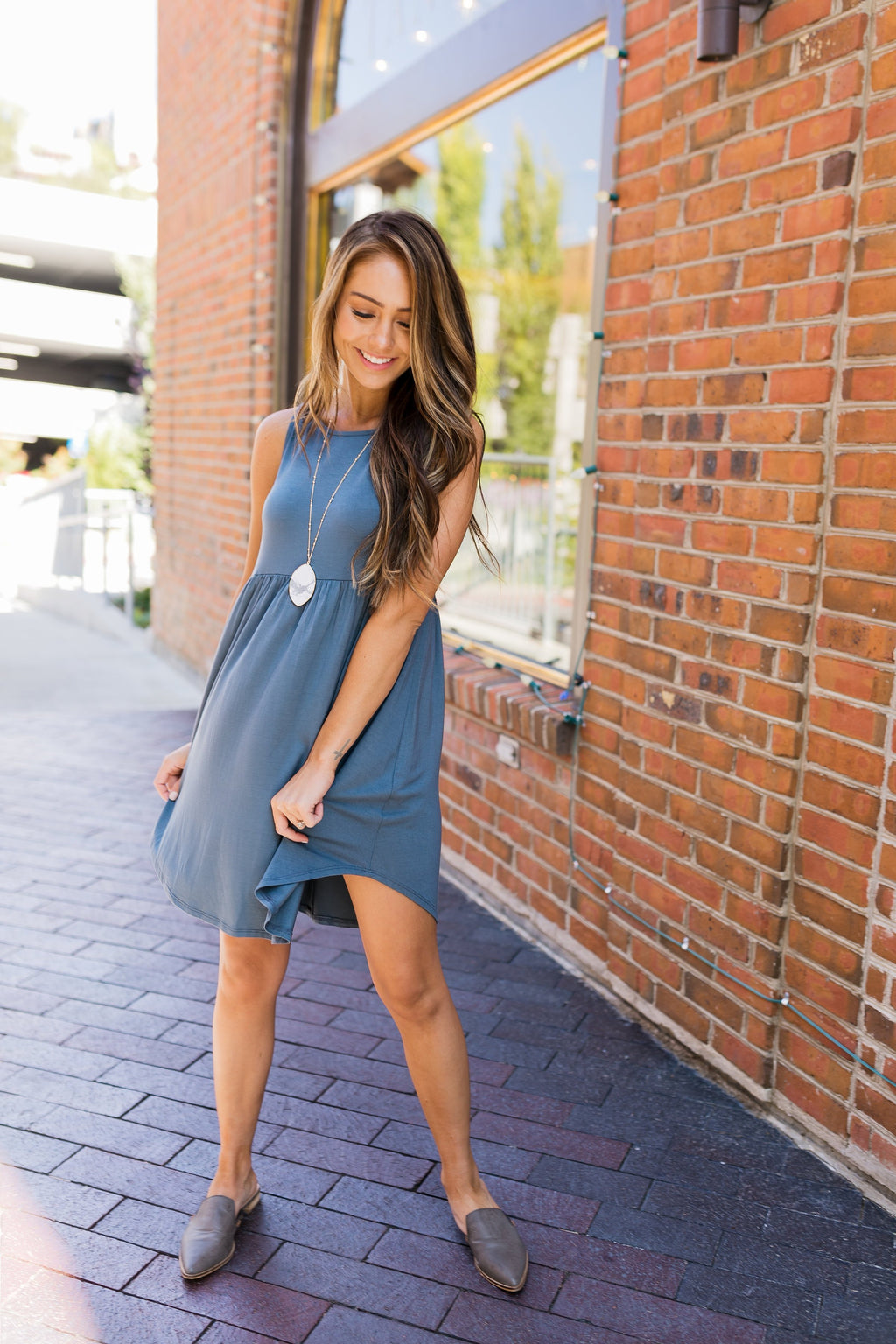 Titanium Tank Midi Dress