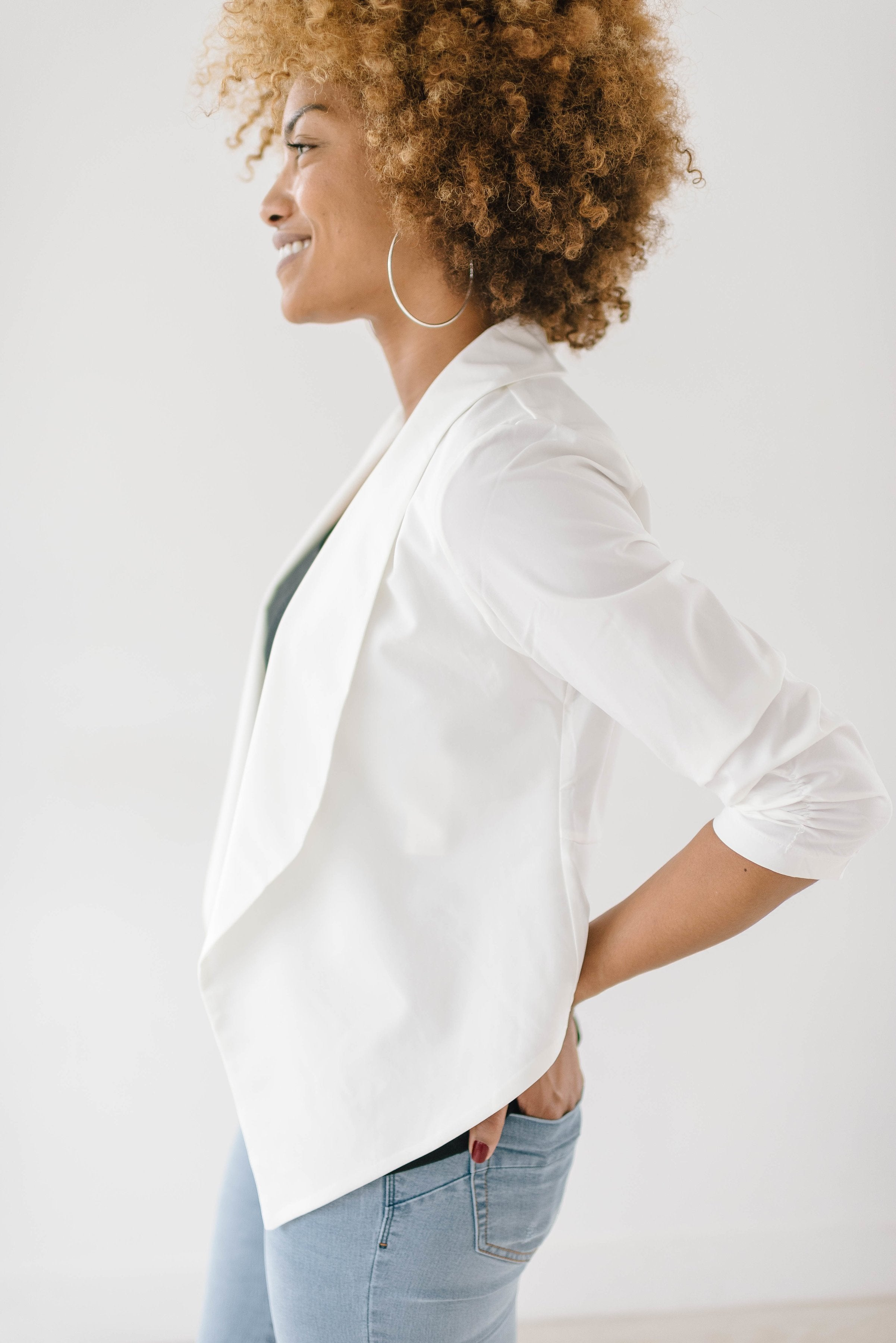 Workday White Blazer