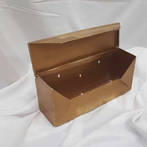 Gold Mailbox Card Box