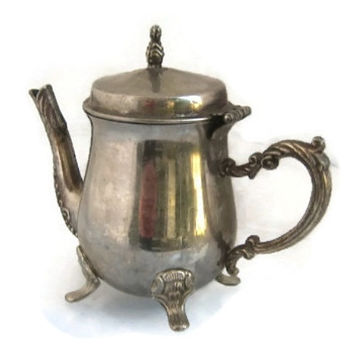 Antique Metal Tea Pots