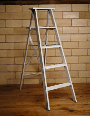 White Decor Ladder