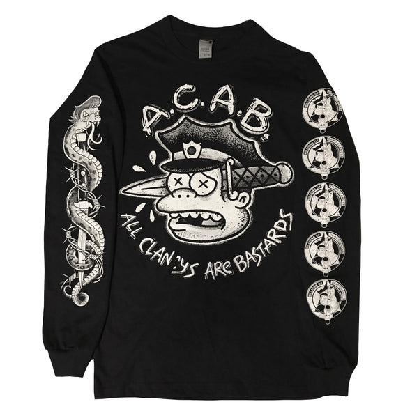 All Clancys Are Bastards Longsleeve Shirt