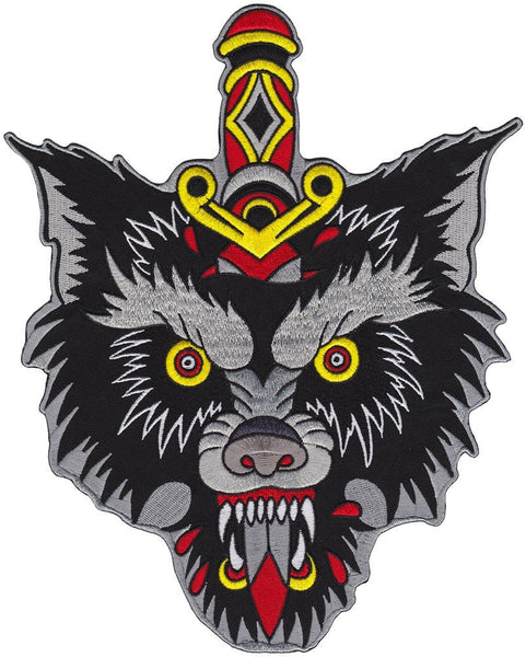 Big Badass Wolf Backpatch