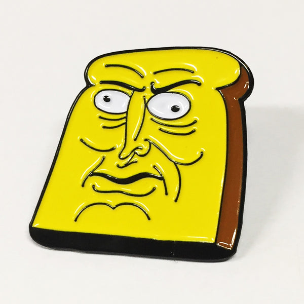 Powdered Toast Man Enamel Pin