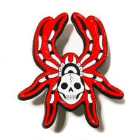 Spider Pin and Web Patch Set