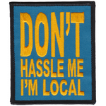Don't Hassle Me Patch