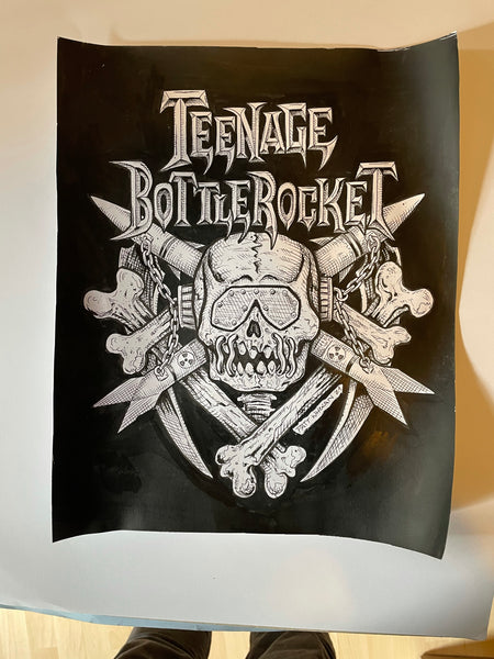 Teenage Bottlerocket original art