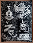 Tattoo Punks Flash original painting
