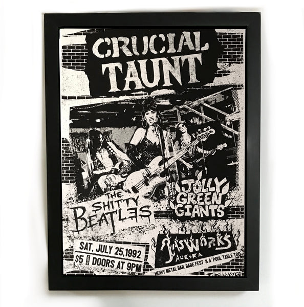 Crucial Taunt poster