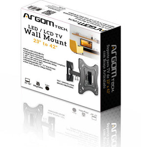 "Full Motion TV Wall Mount 23"" to 42"""