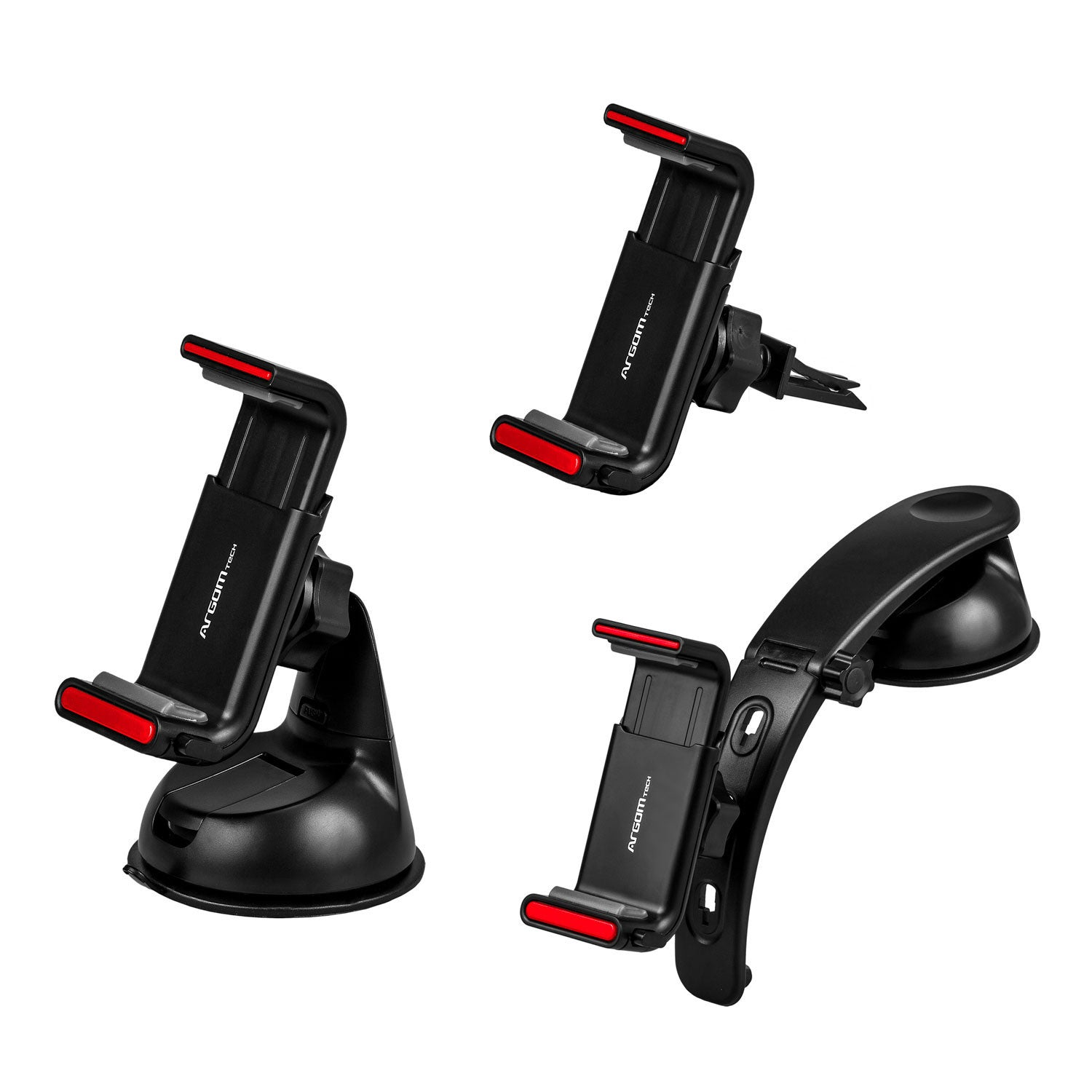 Car Mount Kit for Cell Phones 3-in-1