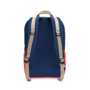 Capri Notebook Backpack - Red