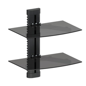 Wall Mount Stand with 2 Shelves