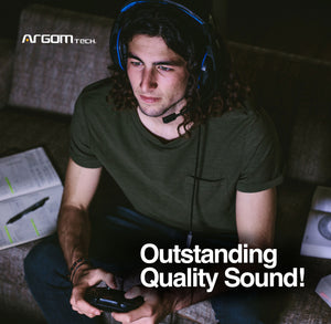 Combat Gaming Headset with Microphone