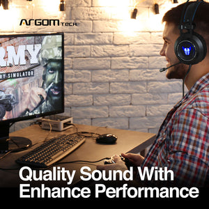 Combat HS46 Gaming Headset with Microphone