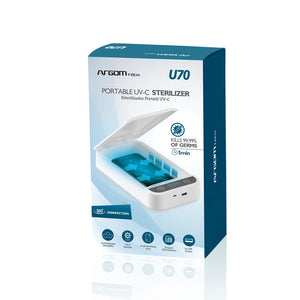 U70 Portable UV-C Sterilizer