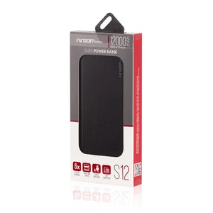 Power Bank S12 12000mAh Aluminum