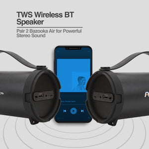Bazooka Air TWS Wireless BT Speaker