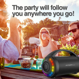 Radyon Beats Premium Wireless BT Speaker with LED Lights