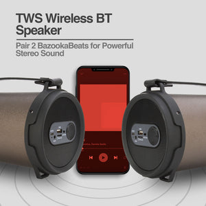 BazookaBeats Hi-Fi Indoor/Outdoor TWS Wireless BT Speaker