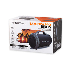Bazooka Pro Beats Wireless BT Speaker