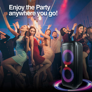 Rave 60 TWS Wireless BT Party Speaker with LED Lights