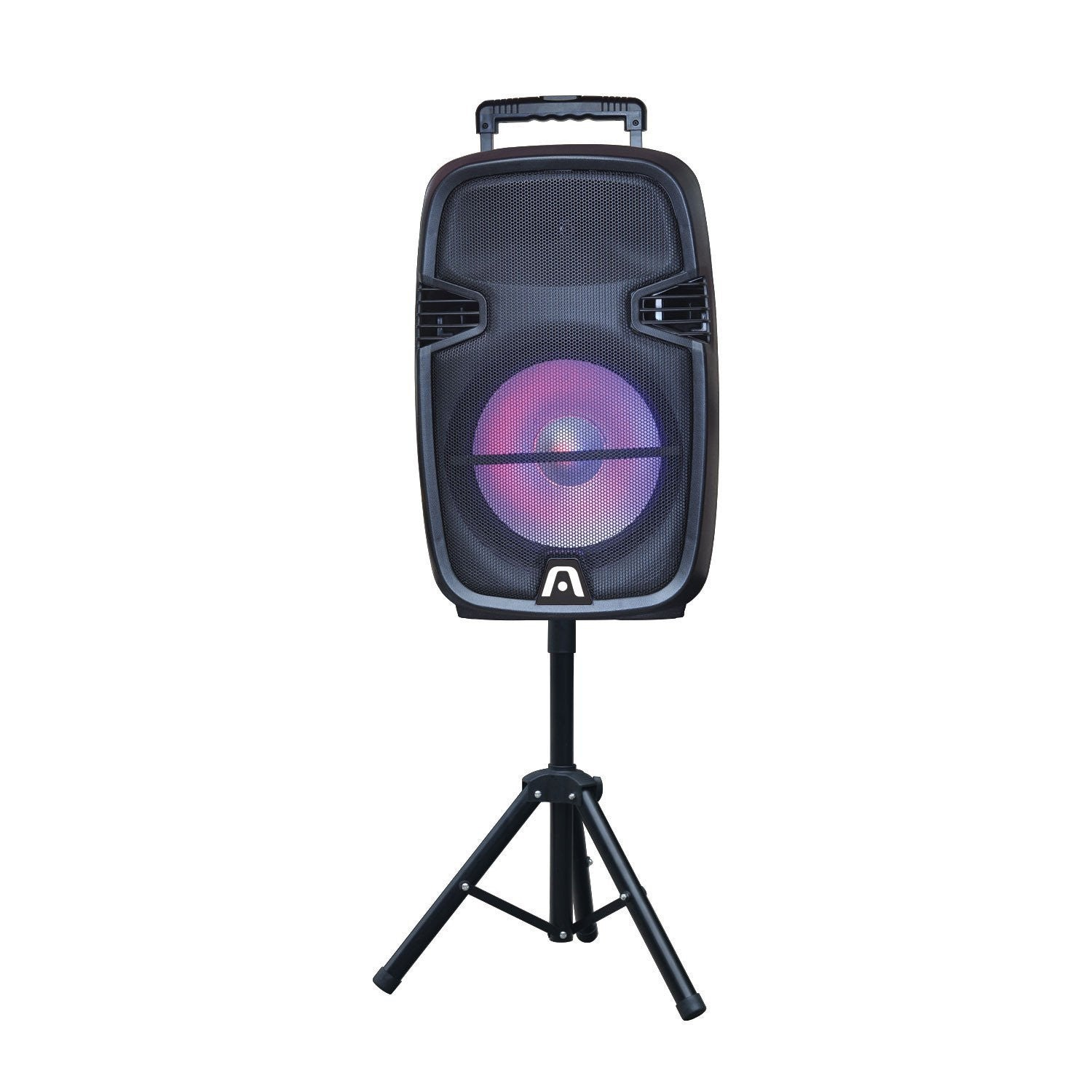 SoundBash 95 BT Trolley Speaker w/LED Lights and Stand
