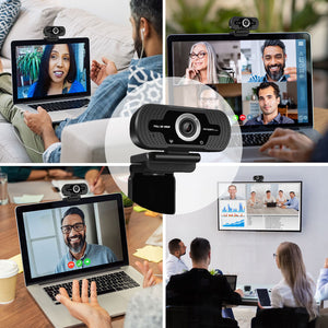 Web Cam Full HD 1080P with Microphone CAM40
