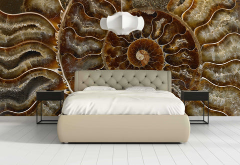 Mineral Wallpaper - Ammonite
