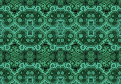 Mineral Wallpaper - Green Outswirl