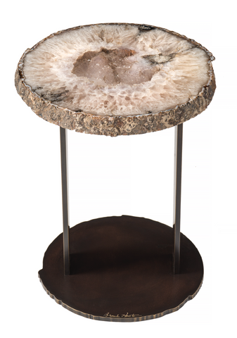 Table - Single Agate Accent Table
