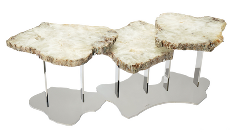 Table - Trio of Agates Coffee Table