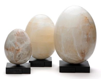 Selenite Eggs - Mexico