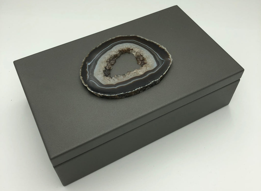 Box - Charcoal and Agate