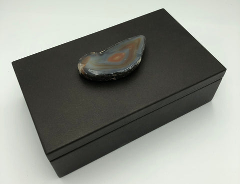 Box - Chocolate and Agate