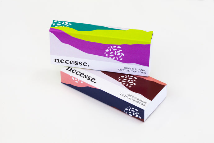 Necesse Organic Cotton Tampons - Mixed Absorbency