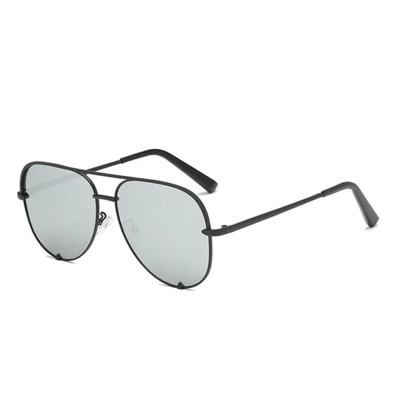 Shady Lady Kristen Sunglasses in Silver