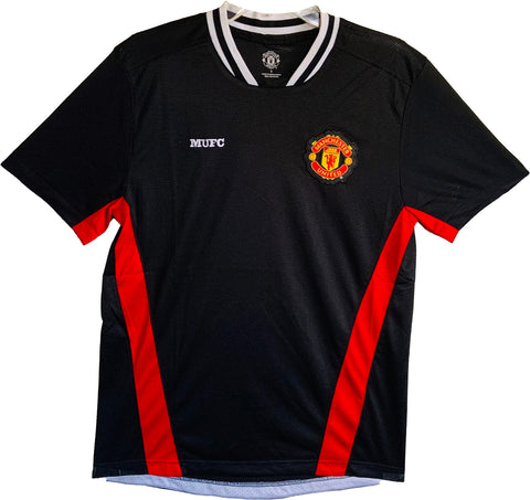 Manchester United MUFC Jersey For Men- Black