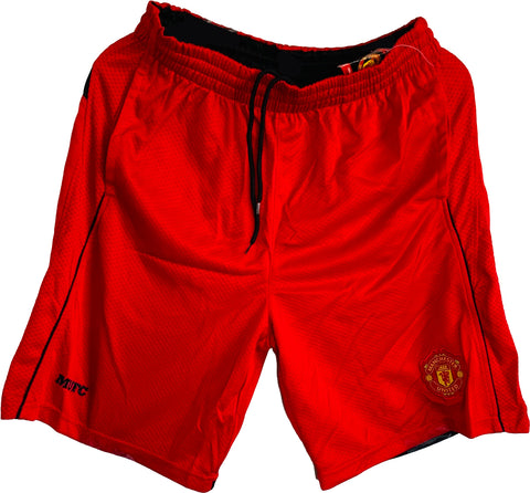 FCB Barcelona Officially Licensed Poly Soccer Shorts- Red