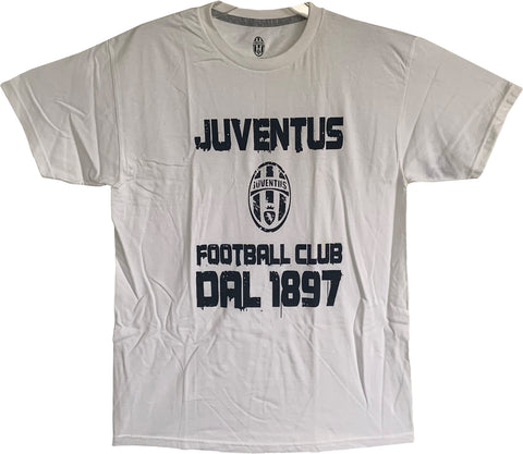 Officially Licensed Juventus Cotton Tee- White