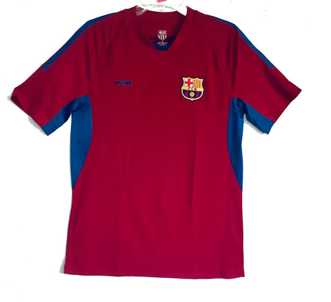 FC Barcelona Officially Licensed Football Soccer Men's Jersey - Burgundy