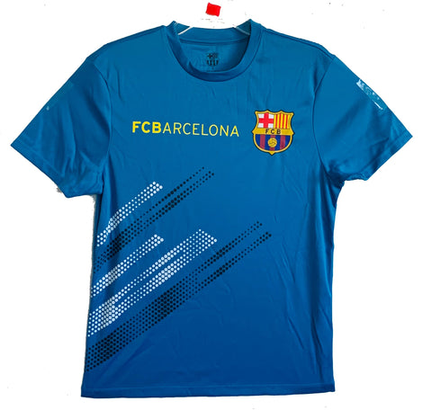 FC Barcelona Officially Licensed Football Soccer Men's Jersey - Blue