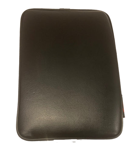 Pillion Pad Seat 6 Suction Cup for Kawasaki- Black