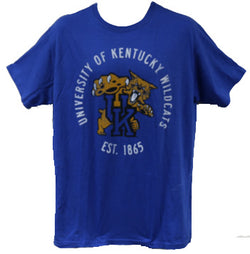 University of Kentucky Wildcats T-Shirt Unisex Officially Licensed