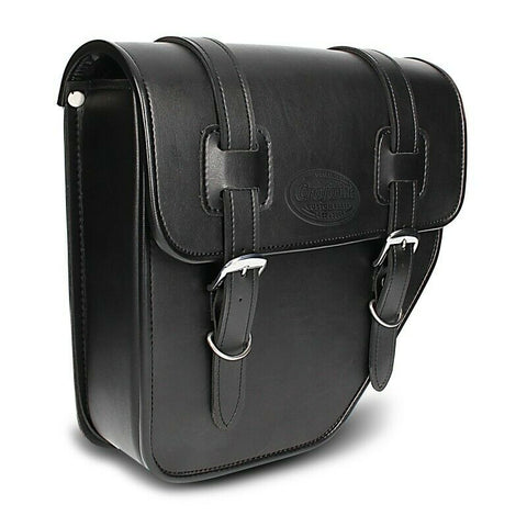 Motorcycle Saddlebag Texas left side bag-black